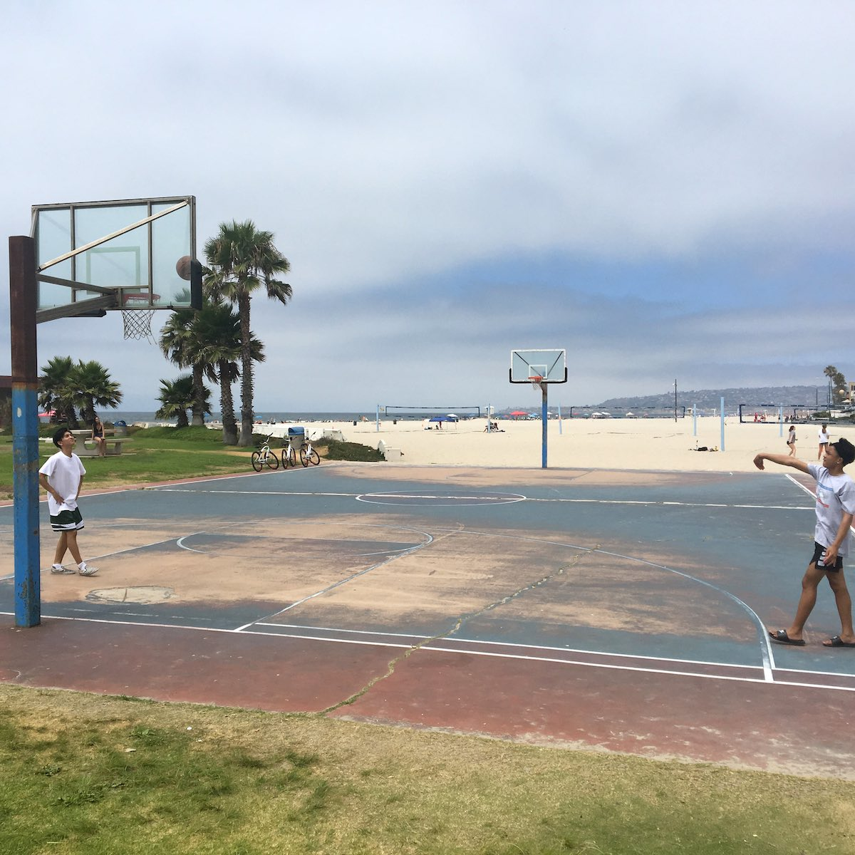 San Diego BIG - Basketball courts need repair
