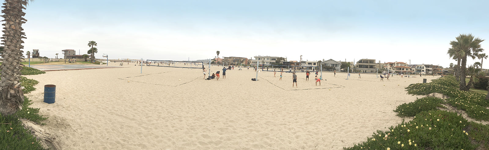 2019 Volleyball courts