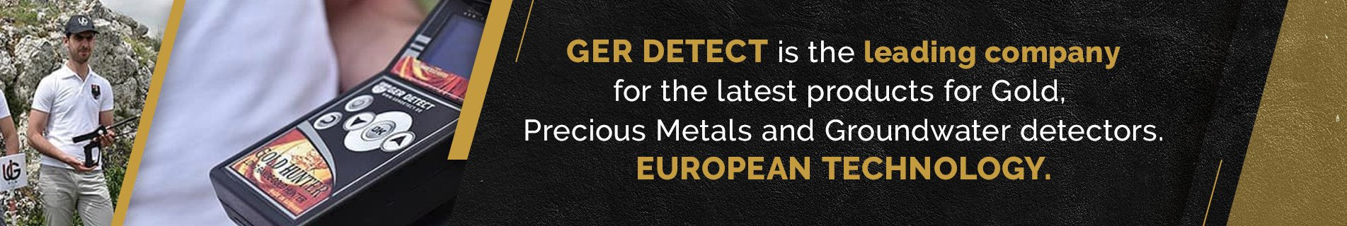 GER DETECT Long Range Metal Detectors | Free Shipping | Secure Payment