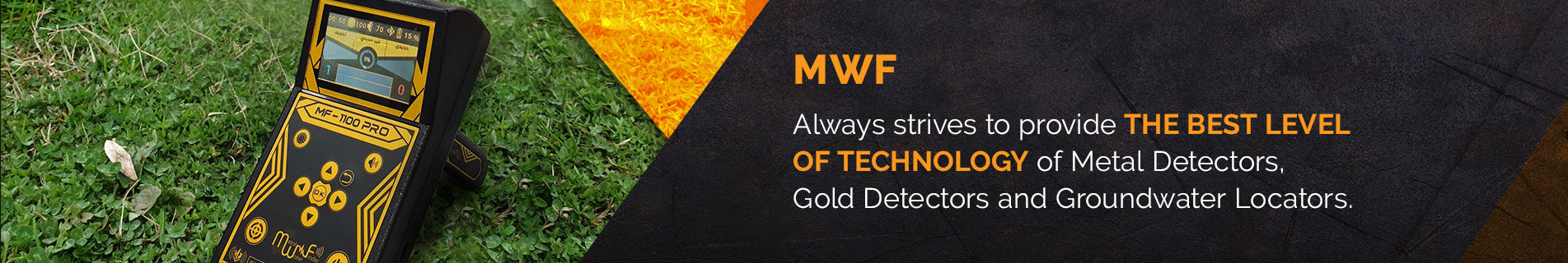 MWF Metal Detectors | Free shipping on USA | Secure Payment