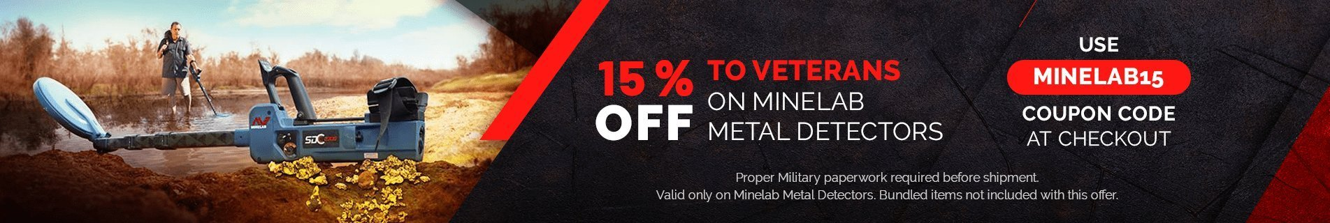 Minelab Metal detectors | Free USA shipping | Secure Payment