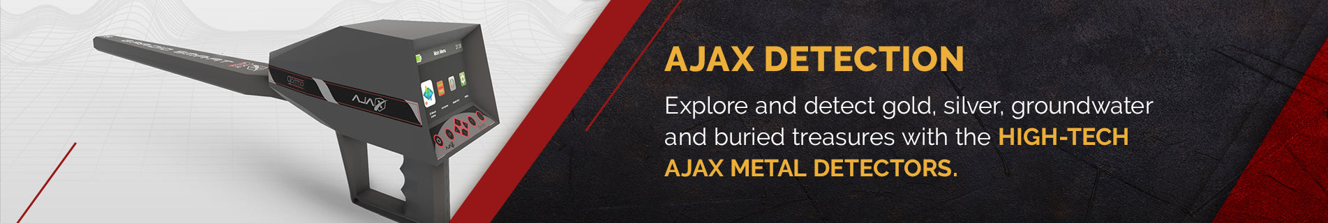 AJAX Detection Metal Detectors| Free US Shipping | Secure Payment