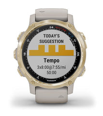 Garmin Descent™ Mk2S Carbon Gray DLC with Black Silicone Band Diving Smartwatch