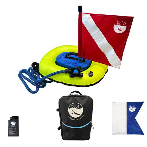 BLU3 Nemo Dive System Basic With Backpack - 1 Battery