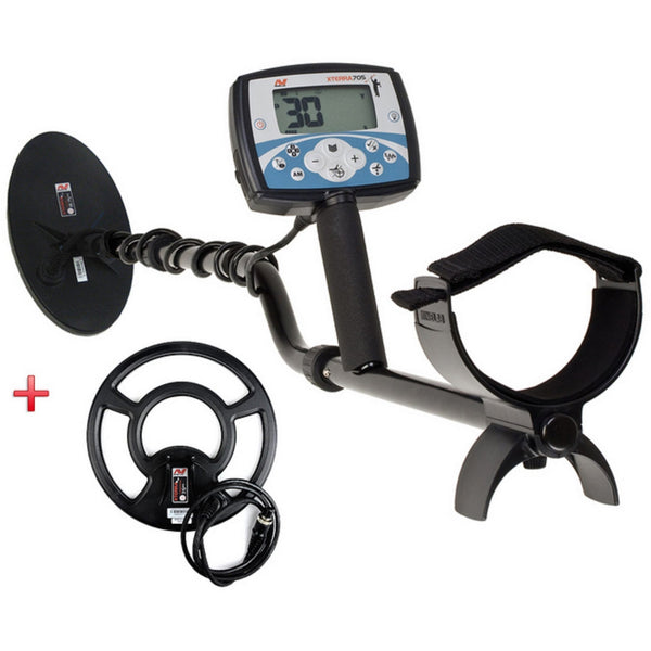 Minelab X-Terra 705 Dual Pack Metal Detector with (4405666087012)