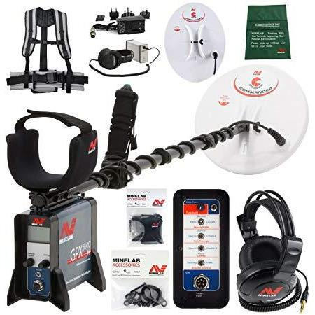 Minelab GPX 5000 Gold Metal Detector with 11