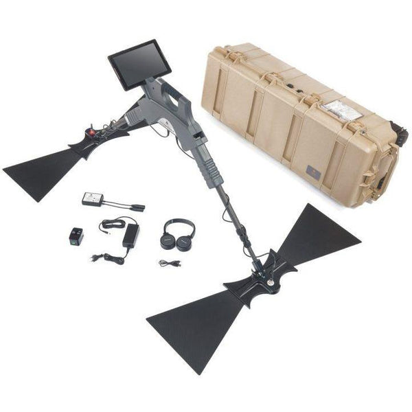 OKM Gepard GPR 3D Metal Detector With Triangular Antenna and Android Tablet
