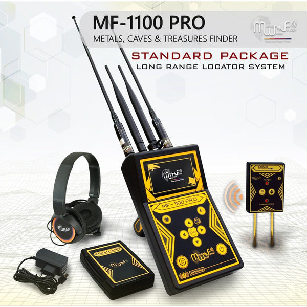 MWF MF 1100 Pro Long Range Detector - Standard Package