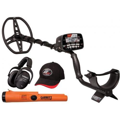 GARRETT AT Max Waterproof Metal Detector + Garrett Pro Pointer AT Z-Lynk Wireless Pinpointer