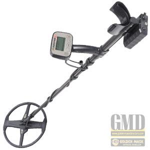 "Golden Mask 6 Metal Detector with 9"" and 12"" search coil (4407581737060)"