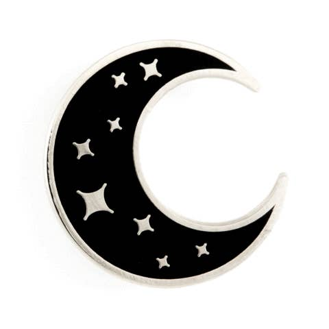 Crescent Moon Pin