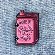 Book of Hexes Pin