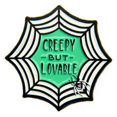 Creepy But Loveable Pin