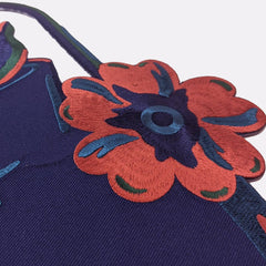 Falling Flowers Large Back Patch