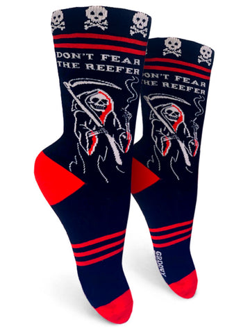 Don't Fear The Reefer Womens Crew Socks