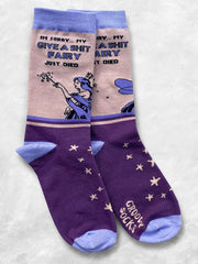 Give a Shit Fairy Women's Crew Socks