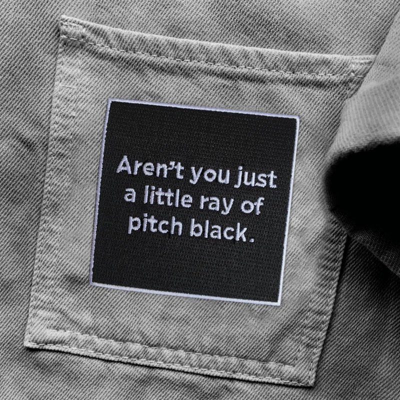 Pitch Black Patch