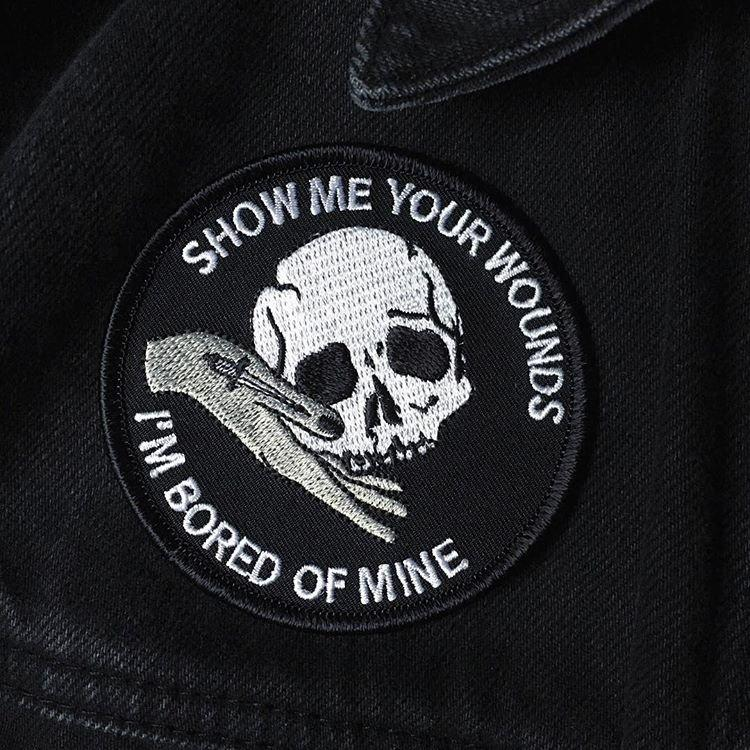 Show me your Wounds Patch