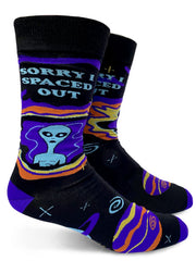 Sorry I spaced Out Mens Crew Socks