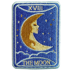The Moon Tarot Patch