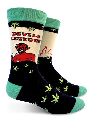 Devils Lettuce Mens Socks