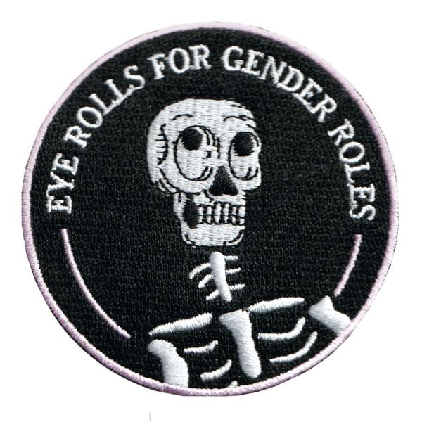 Eye Rolls for Gender Roles patch