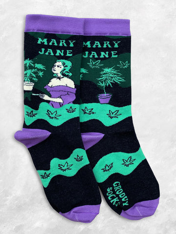 Mary Jane Women's Crew Socks