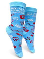 Medical Heroes Womens Crew Socks