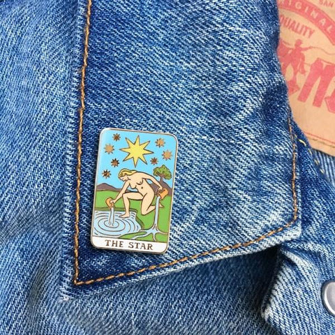 Tarot Card Pin
