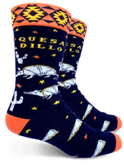 Quesadillo Mens Crew Socks