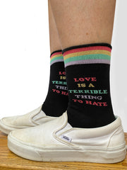 LGBTQ Womens Crew Socks