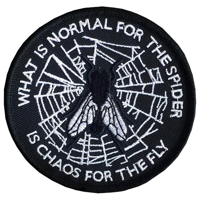 Spider and Fly Patch