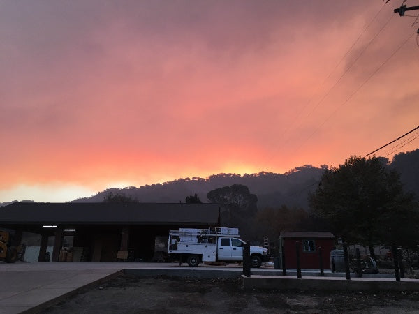 Thomas Fire Update