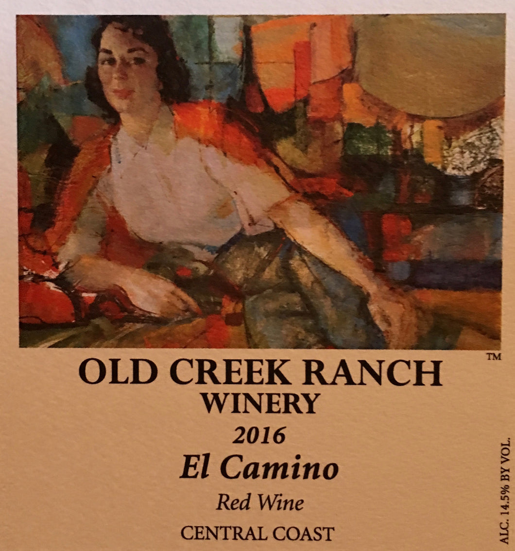 El Camino Red Wine 2016