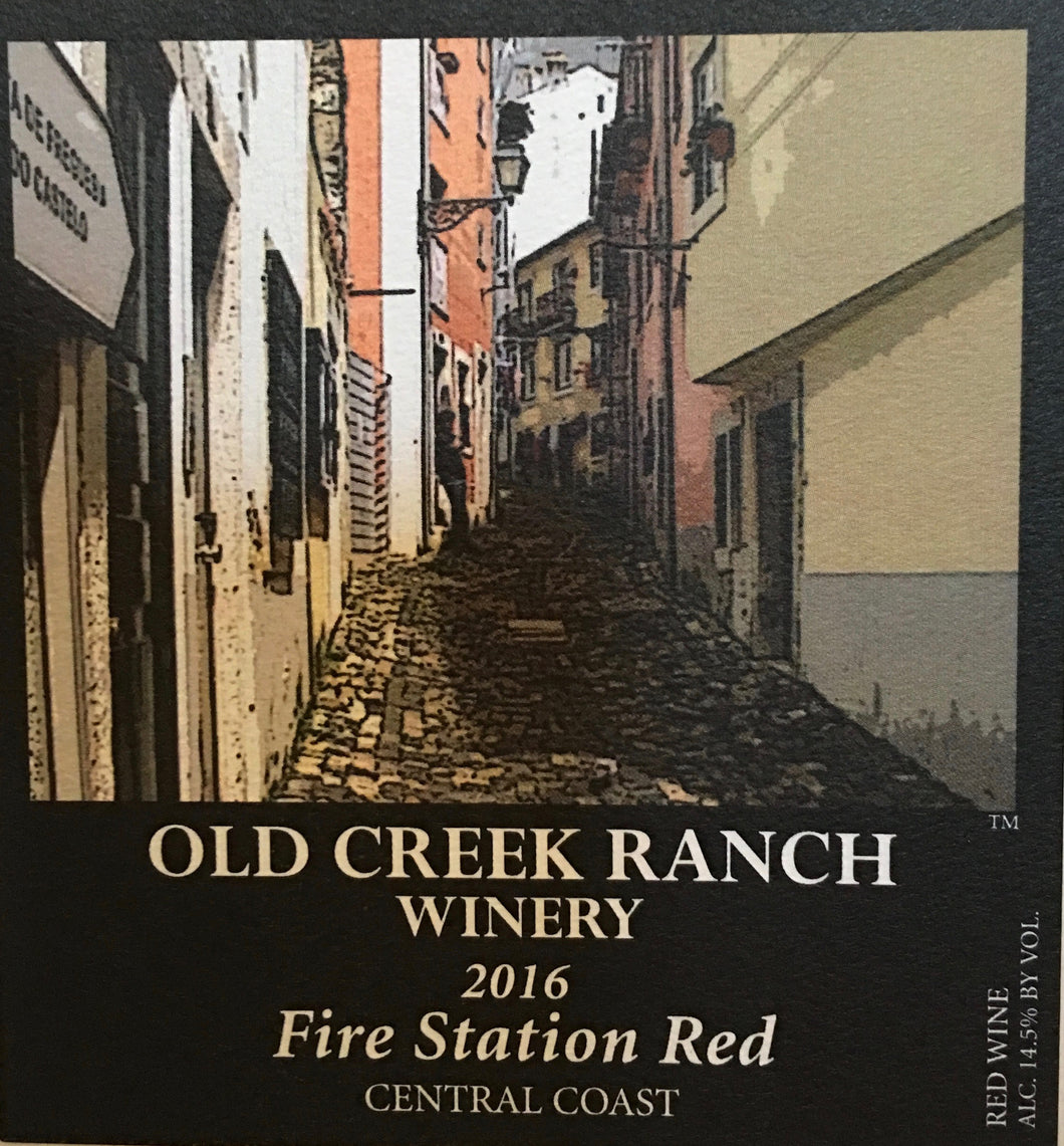 Fire Station Red 2016