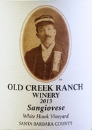 Sangiovese, 2013, White Hawk