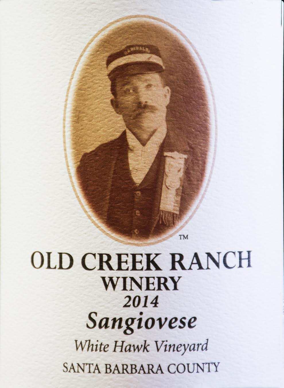 Sangiovese, 2014, White Hawk