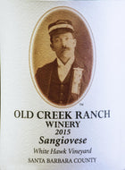 Sangiovese, 2015, White Hawk