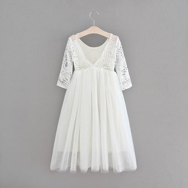 Anastasia straight skirt ~ White