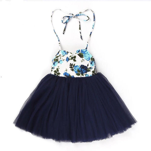 Beatrice Dress ~Navy