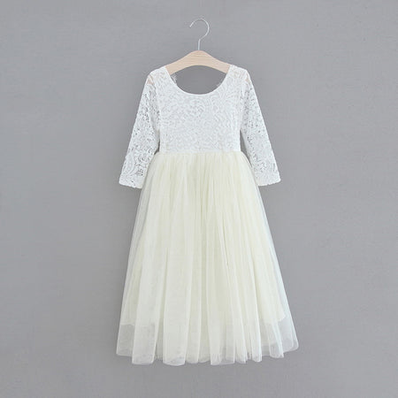 Anastasia straight skirt ~ Light Grey