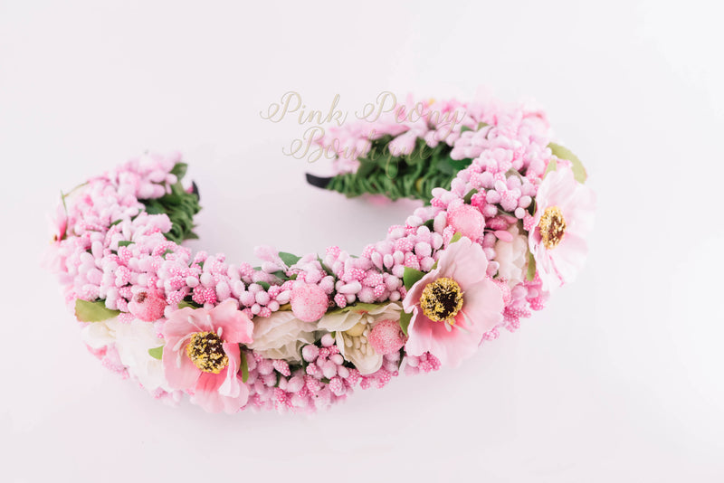 Flower Crown ~ Pink