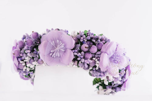 Flower Crown ~ Purple