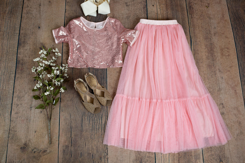 Elliana Set Rose Pink