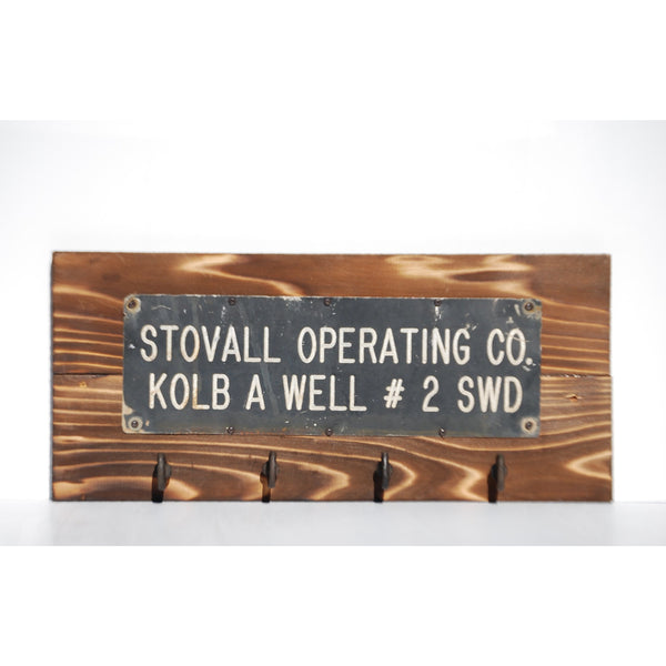 Oil Rig Sign Storage Rack