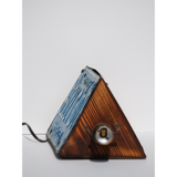 Vintage Georgia License Plate Lamp