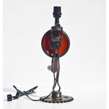 Antique Hand Drill Lamp