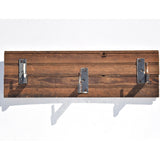 Pine Plank Flooring Coat/Towel Rack