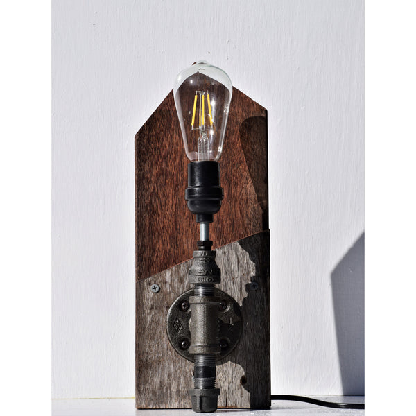 Ipe Decking Industrial Lamp