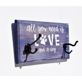 All You Need is Love & A Dog Key/Leash Holder